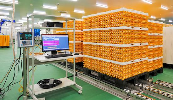 原料卵計量